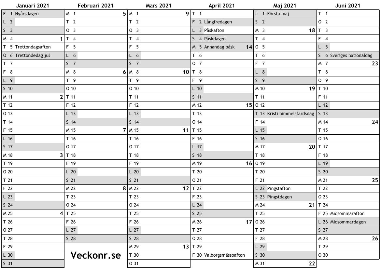 Kalender 2021 2021 2021